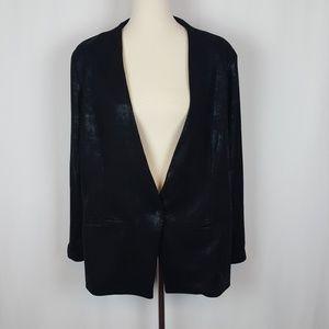 Mossimo Shimmering Black Blazer